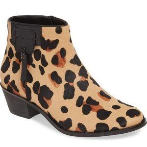 Cole Haan Joanna Calf Hair Boots Jaguar Leopard, 7